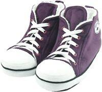 Gohom Men's Home Fuzzy Slipper Boots  Warm Winter Cozy Indoor Sneakers Slippers