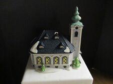 Dept. 56. St. Nikolaus Kirche, Alpine Village, Orig. Box, 1991