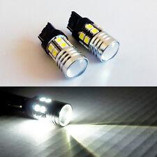 A1 2x T20 7440 7W CREE Q5 SMD-5050 LED Bulbs 6000K White Back up Reverse Light