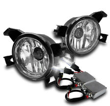 CHROME BUMPER FOG LIGHT LAMP+HARNESS W/50W 6K HID FOR 2005-06 ALTIMA/2004+ QUEST