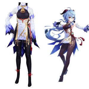 Genshin Impact GanYu Kostüm Cosplay Outfits Full Set
