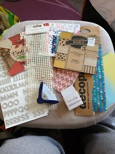 Huge Paper Craft Bundle Decoupage Paper Embellishments