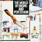 World of Drums and Percussion (1994) Terry Bozzio, Trilok Gurtu, Chad Wac.. [CD]