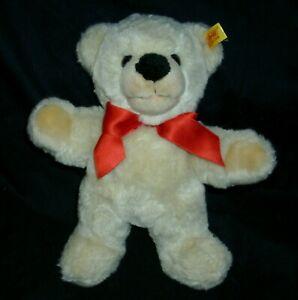 """10"""" STEIFF TAN TEDDY BEAR 021800 COSY FRIENDS STUFFED ANIMAL PLUSH TOY GOLD TAG"""
