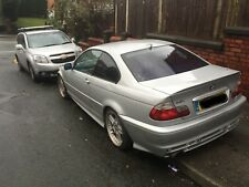 BMW E46 COUPE CONVERTIBLE AERODYNAMIC SPORT SIDE SKIRTS IN TITAN SILVER