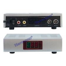 HF Modulator Audio Video UHF 21-69 VHF RF SAT mit LED Display