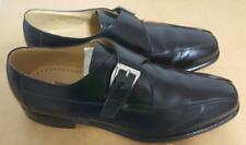 Johnston & Murphy Cognac Monk Strap Dress Shoes MADE IN ITALY Black Size 12