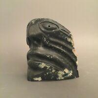 Inuit Art Eskimo carving Leo Uttaq  Face *   #97122    1994
