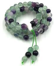 8 mm108 natural Green Tourmaline mala bracelet chakra meditation yoga necklace