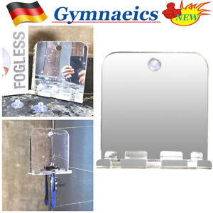 Badezimmerspiegel Antibeschlag-Duschspiegel Mit Anschließen Wandspiegel Anti-Fog