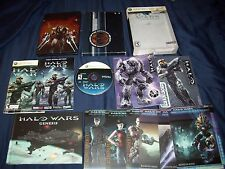HALO WARS LIMITED EDITION WITH WALL GRAFFIX & GRAPHIC NOVEL & CARDS & SLIPCOVER