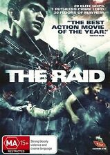 The Raid NEW R4 DVD