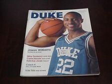 2001-02 Duke University College Basketball Yearbook - Jason Williams
