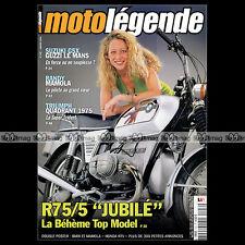 MOTO LEGENDE N°142 SUZUKI GSX 1100 GUZZI 1000 LE MANS BMW R75 R12 HONDA NTV 650