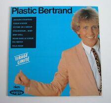 Plastic BERTRAND (Vinyle 25 cm/LP) 1981 Tirage limité