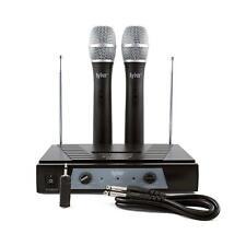 Set De Microfonos Inalambricos Para Karaoke Fiesta Equipo De Musica Profecional