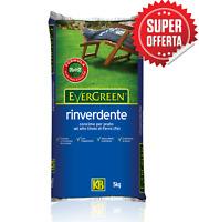 Concime fertilizzante prato giardino KB rapido rinverdente anti muschio 5 kg