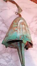 Vintage Cosanti Arcosanti Paolo Soleri Bronze Bell Wind Chime Patina Finish Nib