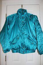 NILS Ladies Turquoise Winter Ski Coat Jacket sz. 10