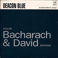 """Deacon Blue Four Bacharach & David Songs UK 45 7"""" EP +Picture Sleeve"""