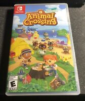 Animal Crossing: New Horizons (Switch, 2020) CIB! MINT/Barely Used! Fast Ship!