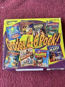 Advantage Grades 4-6 Pack Interactive Homeschool Windows/Mac Complete