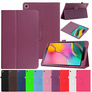 For Galaxy Tab A 8.0 2019 T290 T295 Case Leather Magnetic Stand Book Smart Cover