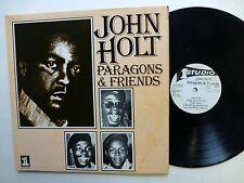 JOHN HOLT Paragons & Friends LP Jamaica press    Fm327
