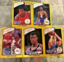 UNDERVALUED 1990 NBA Basketball ROY Starting Lineups SLU CARDS