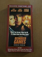 REINDEER GAMES VHS early-00's action Ben Affleck Charlize Theron