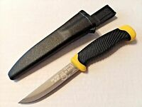DONT TREAD ON ME FIXED BLADE KNIFE YELLOW/BLACK COLORS