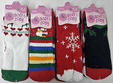 8 Pairs Soft & Cosy Feather Fluffy Ladies Lounge Extra Warm Bed Socks Girls Xmas