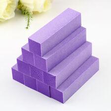 10Pcs Buffing Sanding Buffer Block Acrylic Pedicure Manicure Nail Art Tips PR