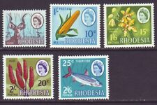 Rhodesia 1967 SC 245-248A MH Set Dual Currency