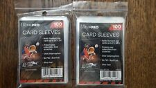 200 Ultra PRO Standard Size Soft Penny Sleeves - Sports - Trading - Gaming Cards