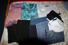 Paket Damen Umstandskleidung Größe 36 bis 40 Umstandhosen, Shirts, BH´s auch neu