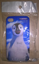 Iphone 4 Plastic Mobile Phone Cover Case Sky Movies Happy Feet 2 Mumble Penguin