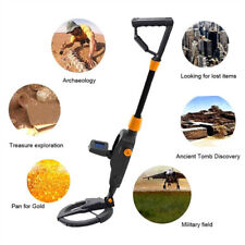 Science  Metal Detector Gold Digger Deep Sensitive Light Hunter LCD Display 10M