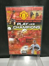 Manchester United Play Like Champions DVD Official Skills Series soccer/football
