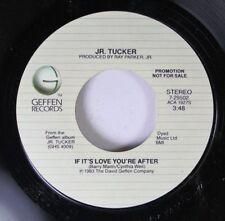 Soul Promo 45 J.R. Tucker - If It'S Love You'Re After / If It'S Love You'Re Afte