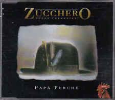 Zucchero Sugar Fornaciari-Papa Perche cd maxi single