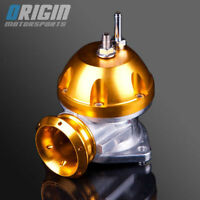 2.5 INCH UNIVERSAL V-2 ADJUSTABLE TYPE-RS S TURBO BLOW OFF VALVE BOV GOLD
