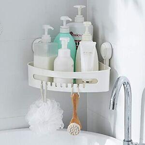 TBM Corner Shower Caddy/Bathroom Self-adhesive Wall Mount Corner Heavy Duty