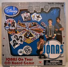 Jonas Brothers Nick Jonas on Tour CD Board Game Disney Brand New!