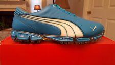 2010 PUMA Super Cell Fusion Ice LE Mens Golf Shoes NEW Vivid Blue/White 11M
