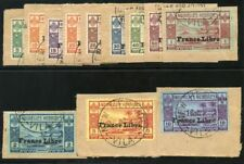 New Hebrides-French 1941 KGVI set complete very fine used. SG F65-76. Sc 67-78.