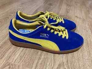 Puma Bluebird Mens Classic Sneaker Shoes Blue Yellow Size US 11 UK 10