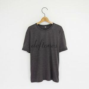 Men's 'Deftones' Distressed Vintage-Style Rock T-Shirt