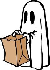 sticker decal car bike halloween spooky kid horror macbook ghost trick treat
