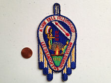 ASHIE OA LODGE 436 SCOUT PATCH SERVICE 1970 FALL FELLOWSHIP HIGHER VISION